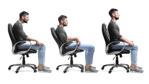 Just a hunch… Your posture is causing your pain
